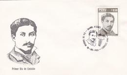 DANIEL ALCIDES CARRION, CIENTIFICO Y ESTUDIANTE MEDICINA-FDC LIMA PERU 1986 - BLEUP - Celebridades