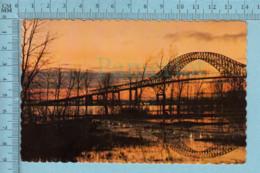 Trois-Rivieres Quebec -Pont Laviolette - CIRCULÉE En 1977  - Timbre 12¢ Canada - Trois-Rivières
