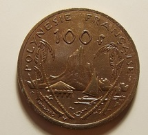 French Polynesia 100 Francs 1991 Varnished - Polynésie Française