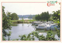 91 Juvisy Draveil Vigneux Le Port Aux Cerises Port De Plaisance  (2 Scans) - Juvisy-sur-Orge