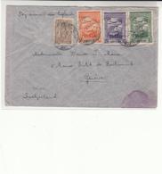 Cape Verde / Airmail / Switzerland - Islas De Cabo Verde