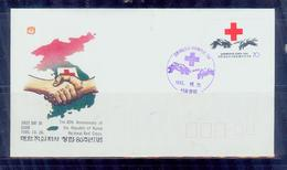 South Korea/1985 National Red Cross 80-year Fdc/MNH.good Condition - Croce Rossa