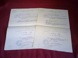 ACADEMIE DE POITIERS  JUILLET 1909 - Diplômes & Bulletins Scolaires