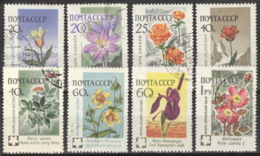 Sowjetunion 2418/25 O Blumen - 1923-1991 USSR