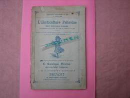 Horticulture Poitevine 1896 Gros Catalogue 160 Pages Arboriculture Et Floriculture Nombreux Clichés.  TBE - B. Plantes Fleuries & Fleurs