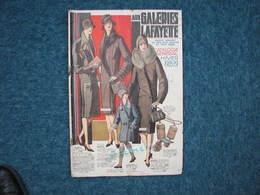 Catalogue Génèral Galeries Lafayette Hiver 1928/29  112 Pages  255X380 Voir Photos T.B.E. - Habits & Linge D'époque