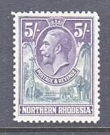 NORTHERN  RHODESIA  14  *  GEORGE V - Northern Rhodesia (...-1963)