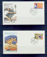 South Korea/1984 65th National Sports Festival 2FDC/ Mnh.good Condition - Estate 1988: Seul