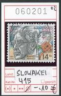 Slowakei - Slowakische Republik - Slovensko - Michel  415 - Oo Oblit. Used Gebruikt - - Slowakische Republik
