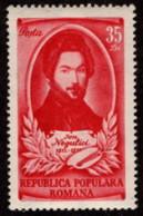ROM SC #781 MNH 1951 Ion Negulici, Painter CV $3.50 - 1948-.... Republics