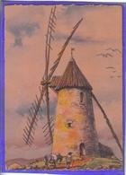 Carte Postale Illustrateur Barre Et Dayer Moulin  à Beauvoir-sur-mer N° 2914F Très Beau Plan - Illustrateurs & Photographes