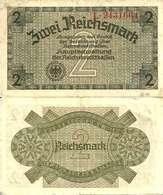 Territoires Occupés 2 REICHSMARK Pick R137a TTB - [ 9] Duitse Bezette Gebieden