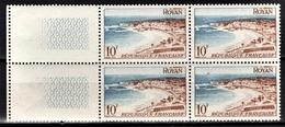 FRANCE 1954 - BLOC DE 4 TP /  Y.T. N° 978 - NEUFS** - France