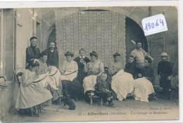 CPA-19064-70- Aillevillers Groupe De Brodeuses ( Petits Défauts) - Envoi Gratuit - Other Municipalities
