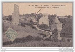 71) UCHON - En  Morvan -  Panorama Et Ruines Du Vieux Château De La Tremouille - France