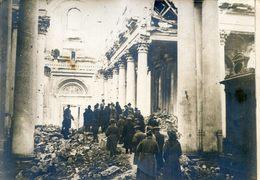 Photo De Presse - Faisait Partie D'un Lot De L'Agence Pol - Arras - Militaria - Mission De Journalistes Dans Cathédrale - Guerre, Militaire