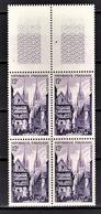 FRANCE 1954 - BLOC DE 4 TP / Y.T. N° 979 - NEUFS** - Nuovi