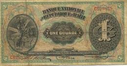 1 GOURDE 1919 - Haiti
