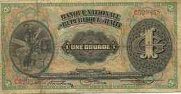 1 GOURDE 1919 - Haïti