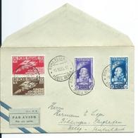 1935 Italia/Italy Letter To Germany,luchtverkeer Milaan Used/gebruikt/oblitere - 1900-44 Victor Emmanuel III.