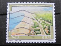 *ITALIA* USATI 2006 - 33^ TURISTICA M PIETRASANTA - SASSONE 2891 - LUSSO/FIOR DI STAMPA - 6. 1946-.. Repubblica