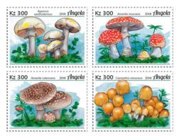 Angola 2018  Mushrooms S201812 - Angola