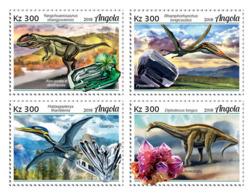Angola 2018  Dinosaurs And Minerals  S201812 - Angola
