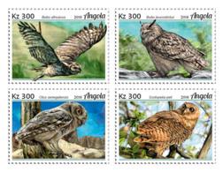 Angola 2018  Fauna  Owls  S201812 - Angola
