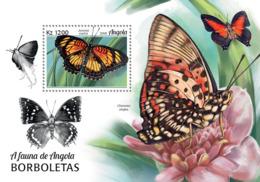 Angola 2018  Fauna Butterflies S201812 - Angola