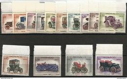 Monaco - 1961 Veteran Cars Set Of 14  MNH **  Sc 485-98 - Monaco