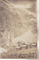Suisse- Valais- Randa. Carte Photo Du  Village Prise En Aout 1918. Tb état Circulée.. - VS Valais