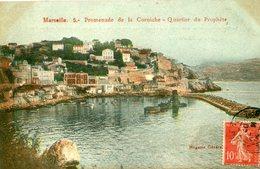13 - MARSEILLE - Promenade De La Corniche. Quartier Du Prophète - Marseille
