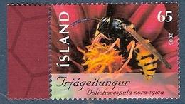 Islande. Timbre Abeille - Honeybees