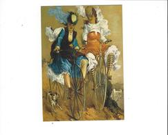 BICYCLETTES VELOS  NOS CYCLISTES  PAR ILLUSTATEUR   F NUGERON  ****  A   SAISIR   ***** - Cartes Postales