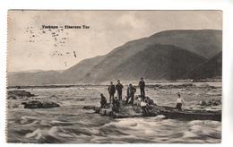+2496,  Feldpost, Vaskapu, Eiserne Tor, Iron Gate Strait,  Porțile De Fier,  Đerdapska Klisura, Rumänien, Serbien - War 1914-18