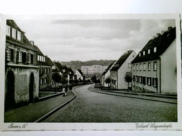 Hemer I. W. - Richard Wagnerstraße. Kreis Iserlohn. Alte, Seltene AK S/w. Gel. Als Feldpost 1943.  Ortsansicht - Ohne Zuordnung