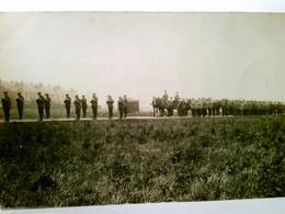 Beerdigung Eines Soldaten ( Wahrscheinlich In England ). Alte Foto AK S/w, Gel. 1918. Trauerzug, Pferdefuhrwer - Militaria