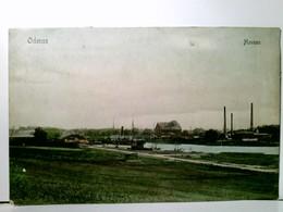 Odense / Fünen. Havnen. Alte AK Farbig, Gel. 1916. Panoramablick über Die Hafenanlage, Schiffe, Gebäude, Fabri - Ansichtskarten