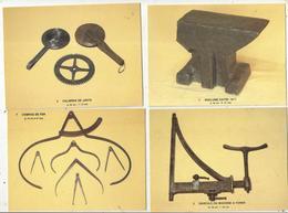 Cp , Métier ,outils, Collections Thebault-Ponty , Cliché P. Mérat, Vierge ,1986, CHARRON,  LOT DE 10 CP D'OUTIL - 5 - 99 Cartes