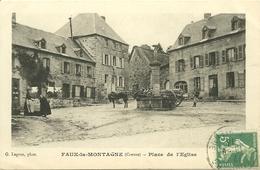 FAUX-la-MONTAGNE (23) -  Place De L' Eglise - Andere Gemeenten