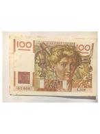 100 Francs Jeune Paysan 1949 - 100 F 1945-1954 ''Jeune Paysan''