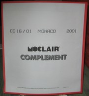 MOC - JEU MONACO MOCLAIR 2001 (Avec Pochettes) - Pré-Imprimés