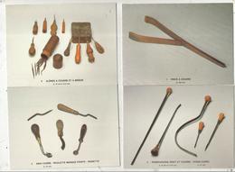 Cp , Métier ,outils, Collections Thebault-Ponty , Cliché P. Mérat, Vierge ,1986, BOURRELIER ,  LOT DE 10 CP D'OUTIL - 5 - 99 Cartes