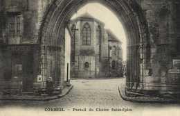 CORBEIL  Portail Du Cloitre Saint Epire RV Ambulant Malesherbes à Paris - Corbeil Essonnes