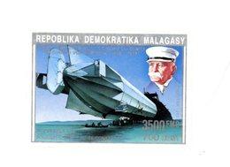 Madagascar 1992-Zeppelin LZ4-Timbre De La Série***MNH - Zeppelins