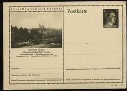 WW II Hitler GS Postkarte P 304 Mit Bild Elsaß Altkirch Sundgau: Ungebraucht, Altersfleckig. - Deutschland