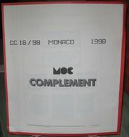 MOC - JEU MONACO MOCLAIR 1998 (Avec Pochettes) - Pré-Imprimés