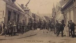 Putte  De Grens In 914 Met Soldaten - La Frontière Avec Soldats - Kapellen