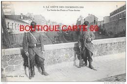 - LA GREVE DES CHEMINOTS 1910 LA GARDE DES PONTS ET VOIE FERREES - Unclassified