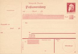 BAYERN  - 1911 , Postanweisung - Bavaria